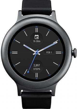 Смарт-часы LG Watch Style W270 титан LGW270.ACISTN  lg watch style w270 rose gold
