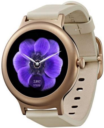 Смарт-часы LG Watch Style W270 розовое золото LGW270.ACISPG  lg watch style w270 rose gold