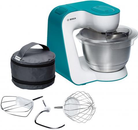 Кухонный комбайн Bosch MUM54D00 бело - голубой bosch 2607019327
