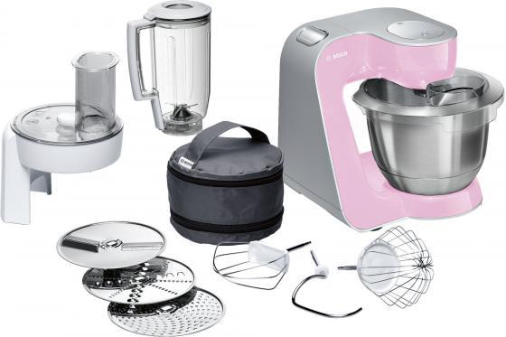 Кухонный комбайн Bosch MUM58K20 серебристо-розовый туалетная вода bruno banani туалетная вода bruno banani magic man 50 мл новая упаковка