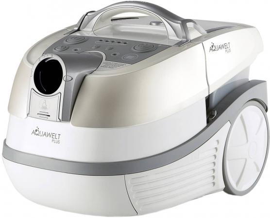 Пылесос Zelmer Aquawelt Plus ZVC762STRU (VC7920.0ST) сухая влажная уборка серый белый