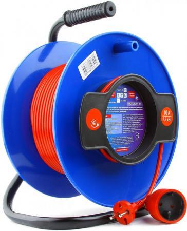 Удлинитель Power Cube PC-B1-K-40 1 розетка 40 м синий удлинитель power cube 30м pc bg4 k 30