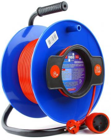 Удлинитель Power Cube PC-B1-K-50 1 розетка 50 м оранжевый цена и фото