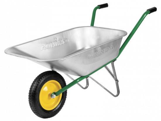 Тачка Grinda садовая 80л 422399 тачка садовая keter easy go breeze 50 l зеленая
