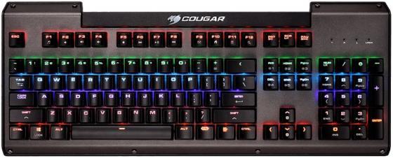 Клавиатура проводная Cougar Ultimus USB черный клавиатура cougar 450k