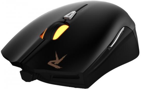 цена на Мышь проводная GAMDIAS OUREA Laser чёрный USB GM-GMS5510