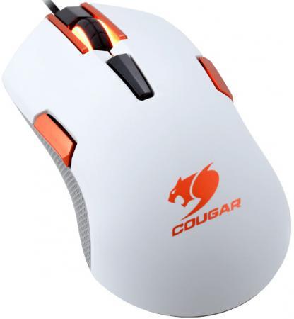 Мышь проводная COUGAR 250M белый USB CGR-WOMW-250 мышь проводная cougar 230m жёлтый белый usb cgr wosy 230