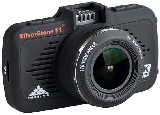 Видеорегистратор Silverstone F1 A-70SHD 2.7 2304x1296 5Mp 170° microSD microSDHC датчик движения USB HDMI черный видеорегистратор supra scr 573w 2 7 1920x1080 5mp 170° hdmi microsd microsdhc