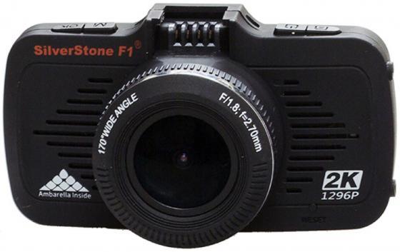 Видеорегистратор Silverstone F1 A-70 GPS 2.7 2560x1080 1.3Mp 170° microSD microSDXC датчик движения USB HDMI черный