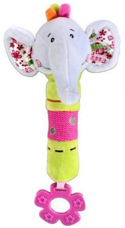 Пищалка-прорезыватель Жирафики Слонёнок Тим с 3 месяцев пищалка разноцветный пищалка прорезыватель жирафики слонёнок тим с 3 месяцев пищалка разноцветный