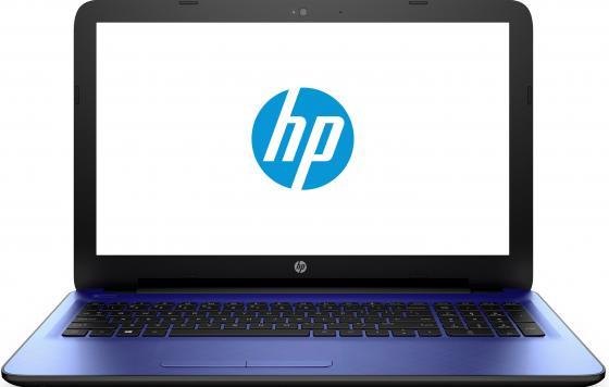 Ноутбук HP 15-ba594ur 15.6 1920x1080 AMD A6-7310 500Gb 4Gb Radeon R4 синий Windows 10 Home 1BW52EA стоимость