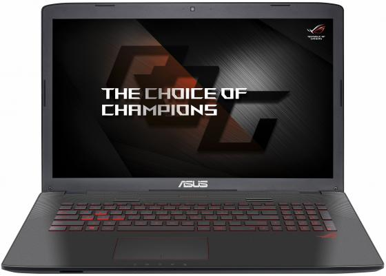 Ноутбук ASUS GL752VW-T4483T 17.3 1920x1080 Intel Core i7-6700HQ 2 Tb 8Gb nVidia GeForce GTX 960M 2048 Мб серый Windows 10 Home 90NB0A42-M06740 ноутбук asus rog gl752vw 90nb0a42 m06740 90nb0a42 m06740