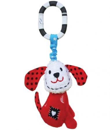 """Развивающая игрушка Жирафики Подвеска с колокольчиком """"Щенок Макс"""" 939340 жирафики жирафики подвеска музкальная пёсик том"""