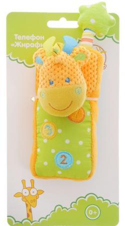 Развивающая игрушка Жирафики Телефон-Жирафик 93809 жирафики развивающая игрушка подвеска веселые малыши