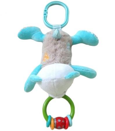 Развивающая игрушка Жирафики подвеска-погремушка Мишка Митя 939460 жирафики развивающая игрушка цветной мячик в ассорименте жирафики