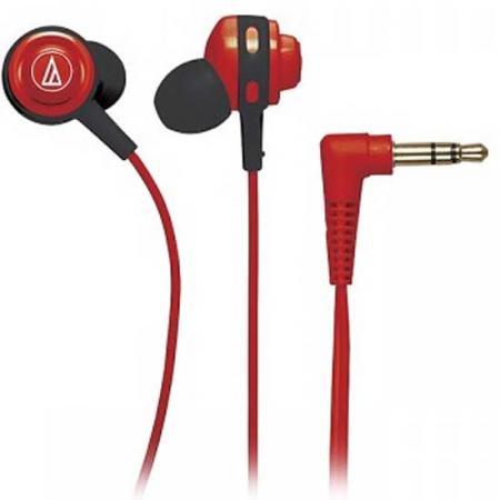 Наушники Audio-Technica ATH-COR150 RD красный наушники audio technica ath sport2 rd вставные