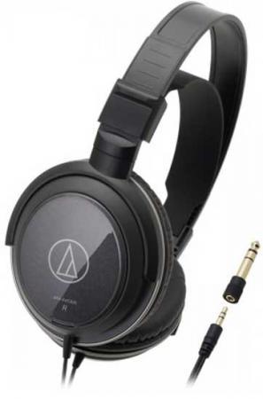 Наушники Audio-Technica ATH-AVC300 black гарнитура audio technica ath ckl220 black