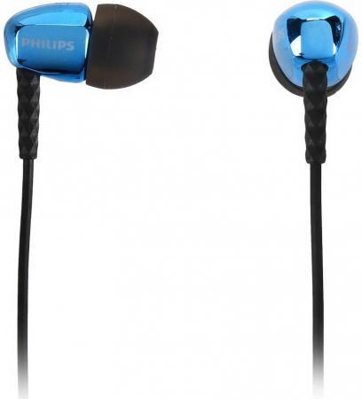 Наушники Philips SHE3900BL/00 blue наушники philips she3590bl 10 blue