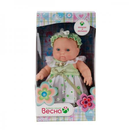 Купить Пупс ВЕСНА Карапуз 12 девочка 20 см В2197, Классические куклы и пупсы