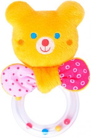 Погремушка МЯКИШИ ШуМякиши Мистер Тед с колечком 354 игрушка погремушка мякиши медвежонок колечко