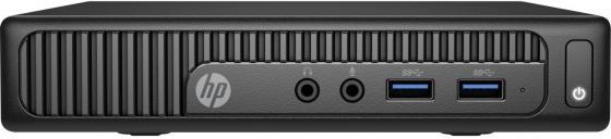 Неттоп HP 260 G2 DM Intel Core i3-6100U 4Gb SSD 256 Intel HD Graphics 520 Windows 10 Professional черный 1EX32ES 1EX32ES
