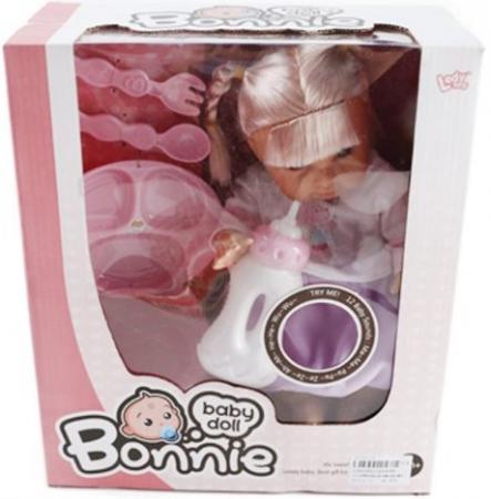 Кукла Shantou Gepai Bonnie с аксессуарами со звуком  LD9908E co e co e olive 120g