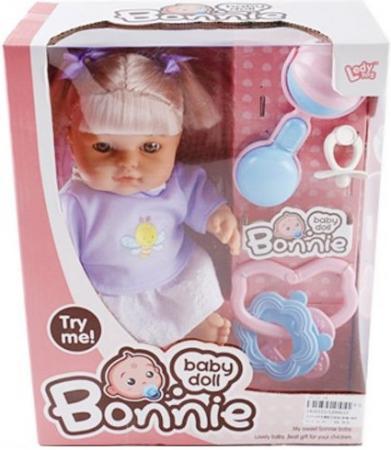 Кукла Shantou Gepai Bonnie в сиреневой кофточке, с аксессуарами со звуком шатура диван прямой аккордеон карина 044