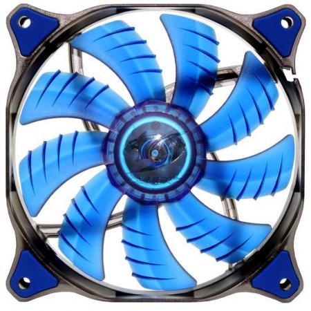 Вентилятор COUGAR CF-D12HB-B 120x120x25мм 3pin 1200rpm синий вентилятор cougar cf v12hp vortex pwm 120 120x120x25мм 4pin 800 1500rpm