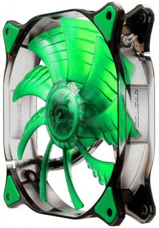 Вентилятор COUGAR CF-D14HB-G 140x140x25мм 3pin 1000rpm зеленый цена