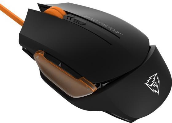 Мышь проводная ThunderX3 TM20 Orange чёрный оранжевый USB мышь thunderx3 tm60 pro e sports