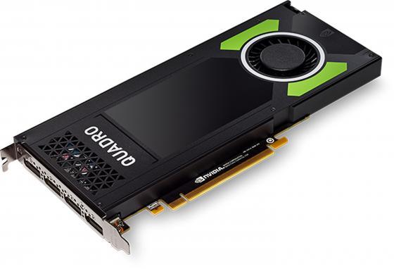 Видеокарта PNY Quadro P4000 VCQP4000-PB PCI-E 8192Mb 256 Bit Retail видеокарта пк hp graphics card nvidia quadro p4000 8gb 1me40aa 1me40aa