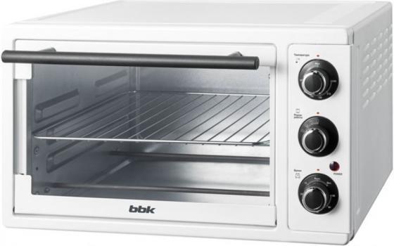 Мини-печь BBK OE2341M белый тостер bbk tr72m white