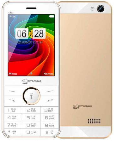 Мобильный телефон Micromax X913 золотистый белый 2.8 32 Мб