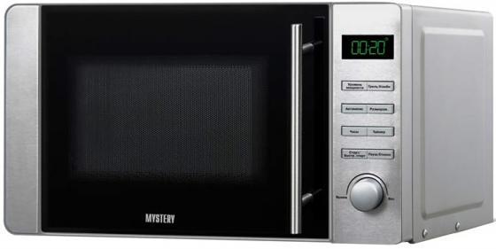 Микроволновая печь MYSTERY MMW-2037G 800 Вт серебристый микроволновая печь mystery mmw 2031 800 вт белый