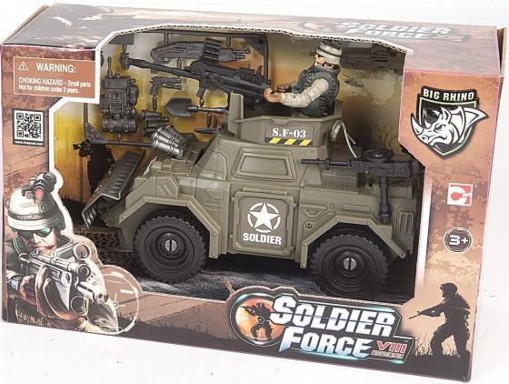 Игровой набор CHAP MEI Броневик спецназа 521064-1 игровые наборы chap mei игровой набор soldier force армейский внедорожник