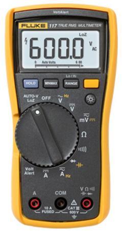 Мультиметр Fluke IG FLUKE-117 EUR  регистратор электроэнергии fluke 1730 hanger