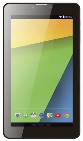 Планшет Supra M74B 7 8Gb черный Wi-Fi 3G Bluetooth Android M74B 3G