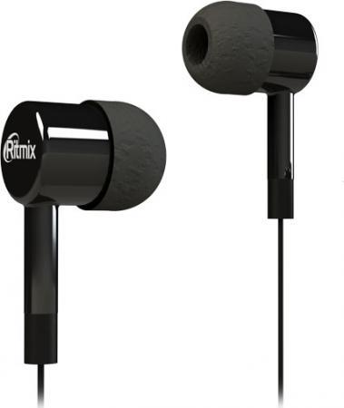Наушники Ritmix RH-003 черный аудио наушники ritmix гарнитуры ritmix rh 565m gaming