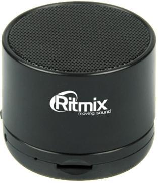 ritmix sp 440pb gray портативная акустическая система Портативная акустика Ritmix SP-130B черный