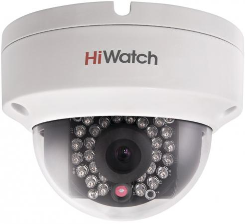 Камера IP Hikvision DS-I122 CMOS 1/3'' 4 мм 1280 x 960 H.264 MJPEG RJ-45 LAN PoE белый ip камера hiwatch ds i122 4 mm 1 3мп уличная купольная мини ip камера ик подсветкой до 15м 1 3 cmos матрица объектив 4мм угол обзора 73 1° ме