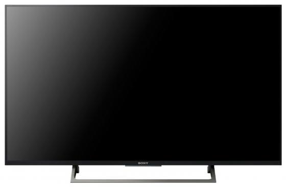 Телевизор 43 SONY KD43XE8096BR2 черный 3840x2160 60 Гц Wi-Fi Smart TV RJ-45 Bluetooth WiDi телевизор led 65 tcl l65c1cus curve черный серебристый 3840x2160 60 гц smart tv wi fi vga rj 45