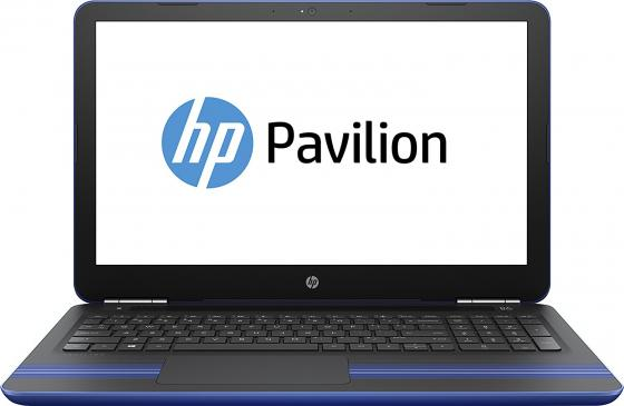 Ноутбук HP Pavilion 15-au126ur 15.6 1366x768 Intel Core i3-7100U 1 Tb 4Gb Intel HD Graphics 620 синий Windows 10 Home Z6K52EA