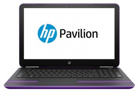 Ноутбук HP Pavilion 15-au127ur 15.6 1366x768 Intel Core i3-7100U 1 Tb 4Gb Intel HD Graphics 620 фиолетовый Windows 10 Home