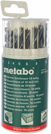 Набор сверл Metabo 18шт 627190000 набор сверл metabo 627705000