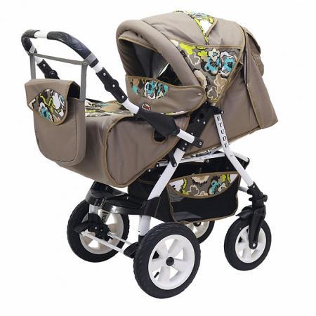 Фото - Прогулочная коляска Teddy BartPlast Etude PKLO (07/коричневый) коляска прогулочная everflo safari grey e 230 luxe