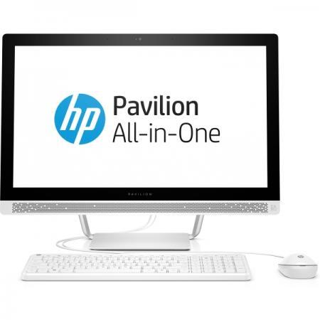 Моноблок 23.8 HP 24-b210ur 1920 x 1080 Intel Pentium-G4560T 4Gb 1Tb Intel HD Graphics 620 Windows 10 Home белый 1AW62EA