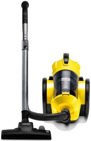 Пылесос Karcher VC 3 сухая уборка жёлтый чёрный пылесос karcher vc 6 желтый