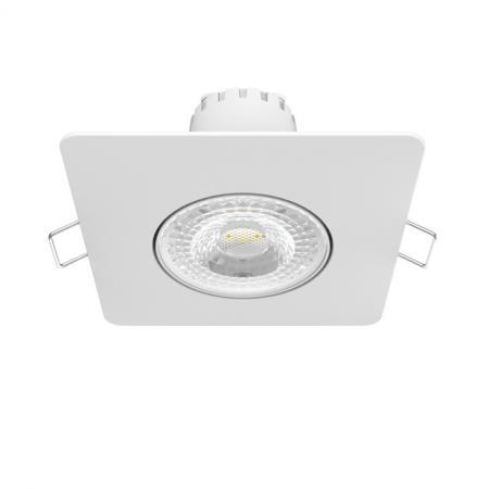 Встраиваемый светодиодный светильник Gauss 948411106 gauss встраиваемый светильник gauss квадрат белый 6w 500 lm led 2700k 948411106