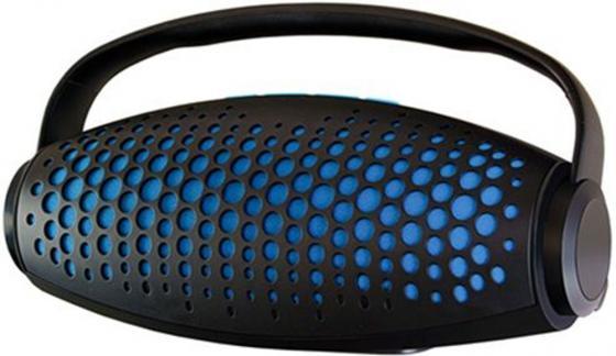 Портативная акустика Ginzzu GM-989B синий цена и фото