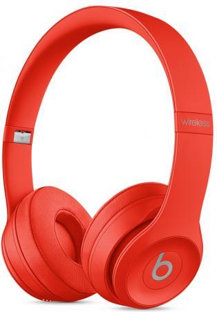 Наушники Apple Beats Solo 3 Wireless красный MP162ZE/A беспроводные наушники beats mnep2ze a solo 3 wireless gloss white